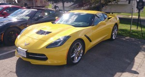 Au volant de la Chevrolet Corvette Stingray 2014