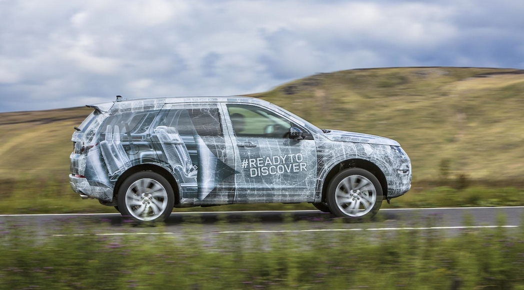 Prototype Land Rover Discovery Sport 2016