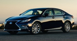 La Lexus ES 2016 plus d'affirmation