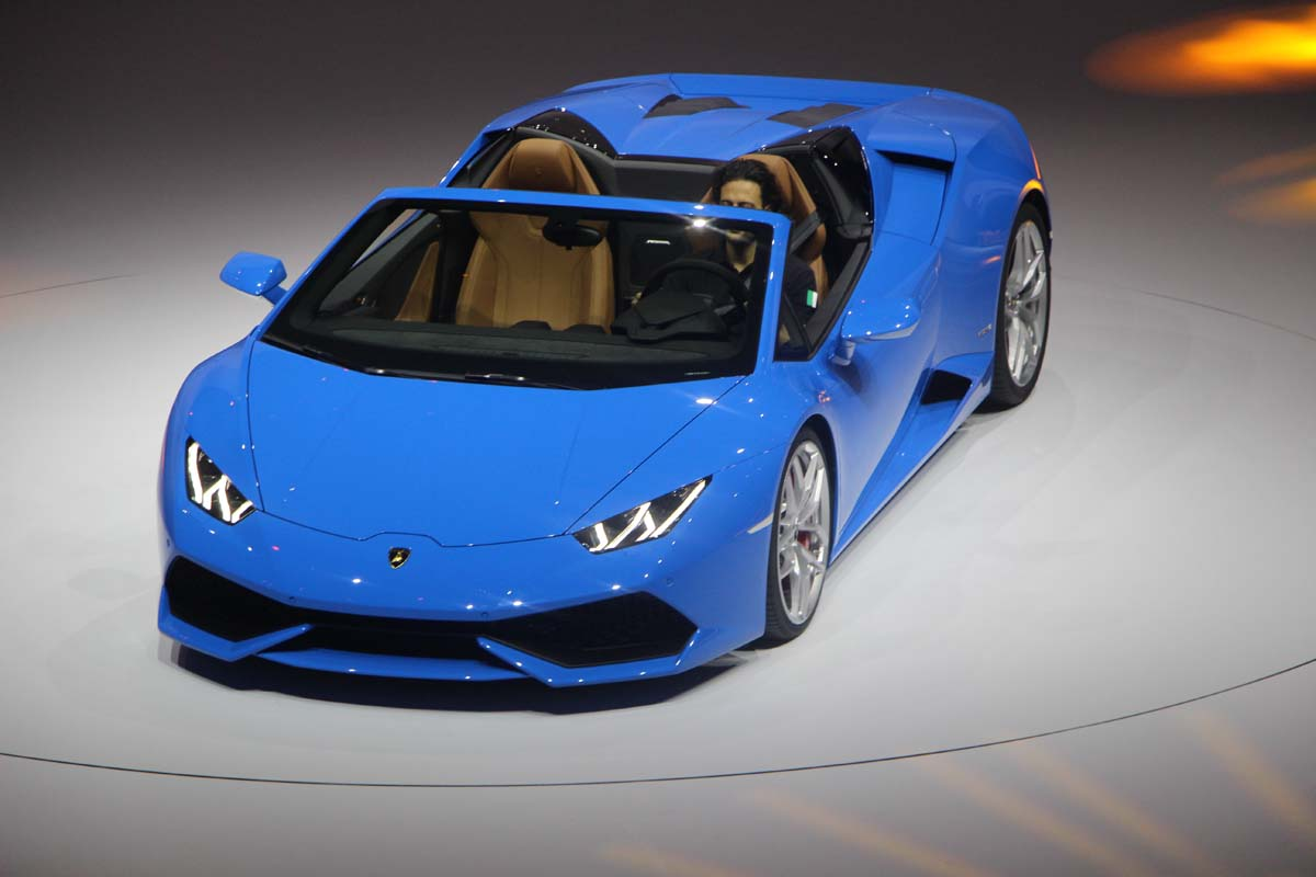 lamborghini pr sente la huracan spyder francfort luxury car magazine. Black Bedroom Furniture Sets. Home Design Ideas