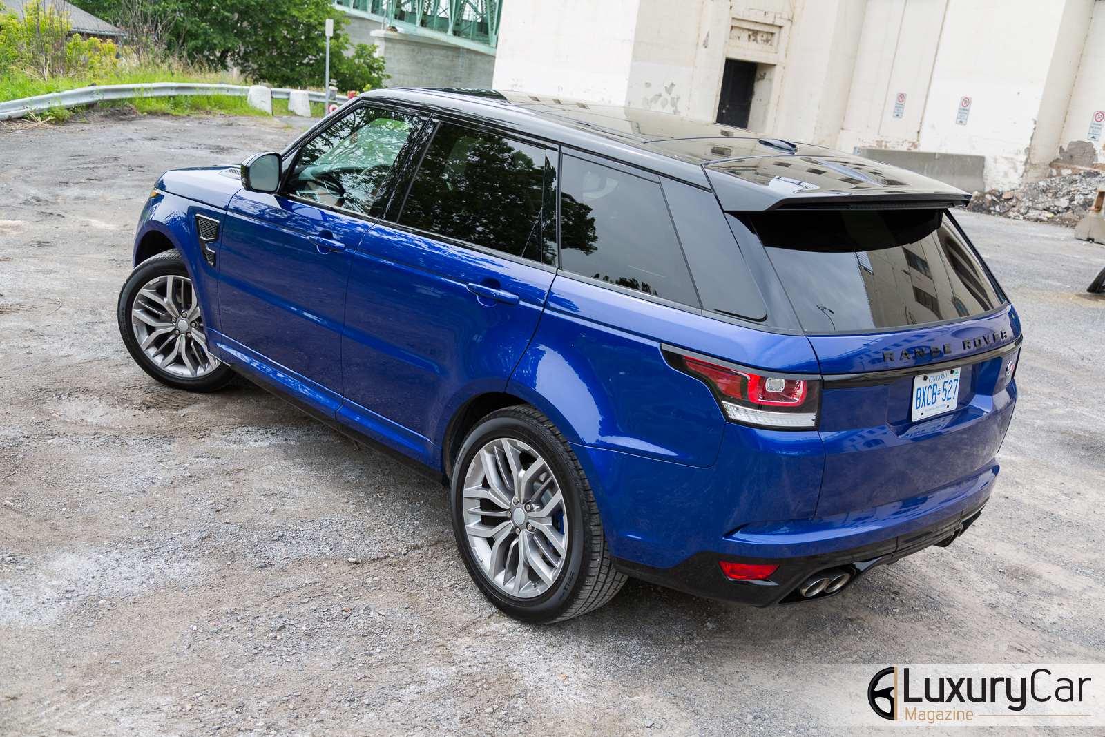 essai routier range rover sport svr 2015 faire diff rent. Black Bedroom Furniture Sets. Home Design Ideas
