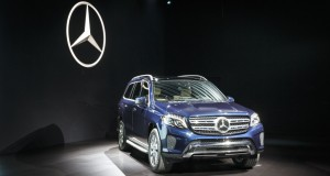 Salon de Los Angeles: dévoilement du Mercedes-Benz GLS 2017