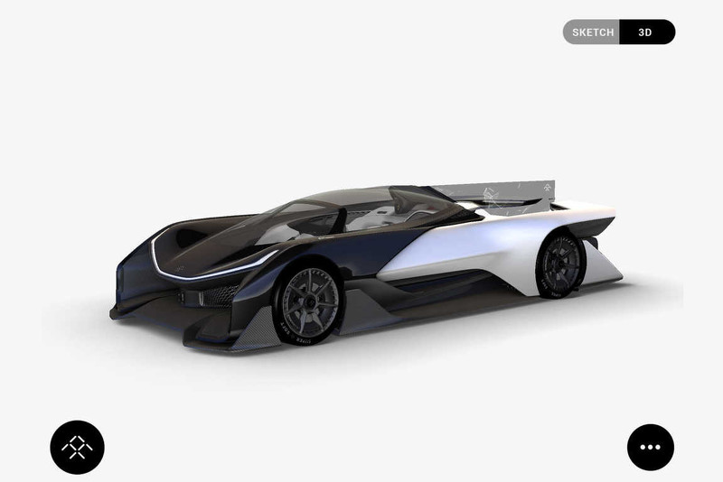 la faraday future concept aura plus de 1000 chevaux luxury car magazine. Black Bedroom Furniture Sets. Home Design Ideas