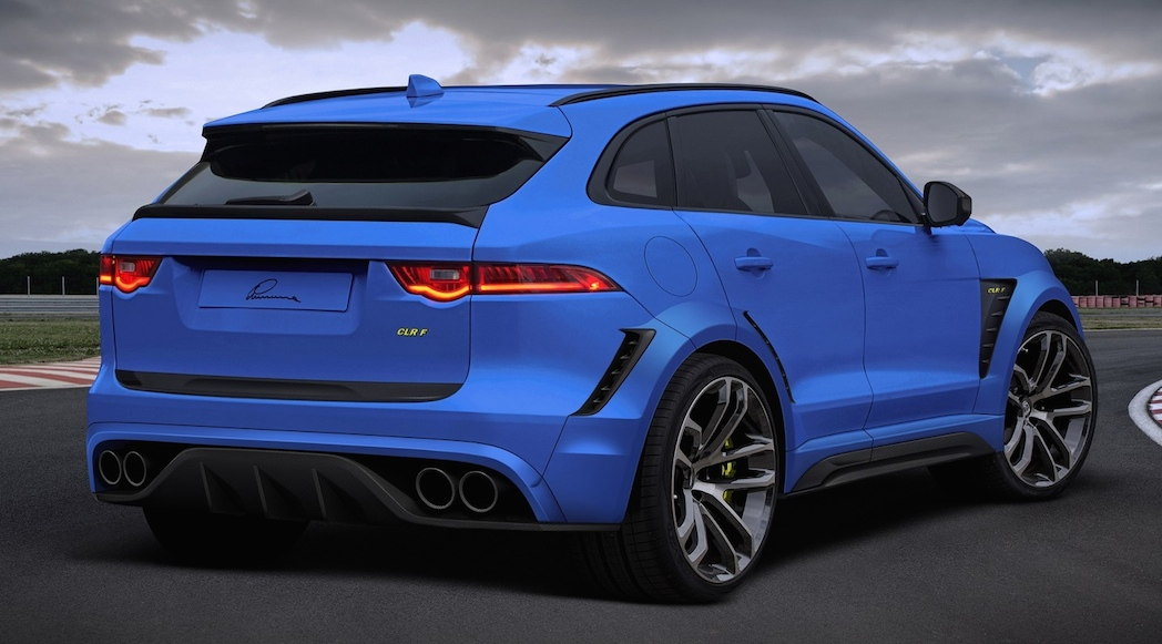 Interieur Jaguar F Pace Of Lumma Transforme Le Jaguar F Pace 2017 Luxury Car Magazine