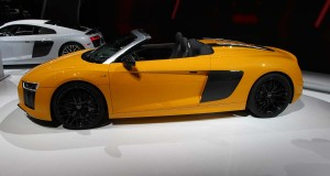 New York : Audi R8 V10 Spyder 2017, Topless