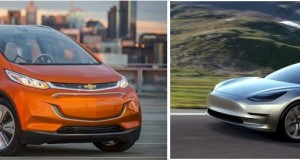 Tesla Model 3 VS Chevrolet Bolt