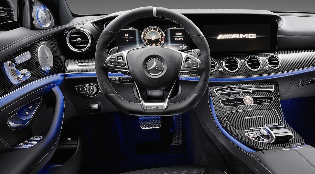 mercedes amg e63 et e63s 2018 passer les 600 chevaux luxury car magazine. Black Bedroom Furniture Sets. Home Design Ideas