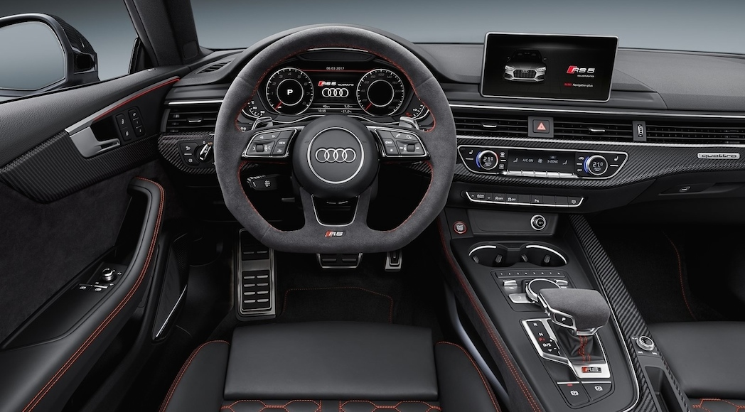 gen ve audi rs5 2018 une brute de beaut luxury car. Black Bedroom Furniture Sets. Home Design Ideas
