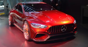 New York 2017 : Mercedes-AMG GLC63 2018 et AMG GT Concept