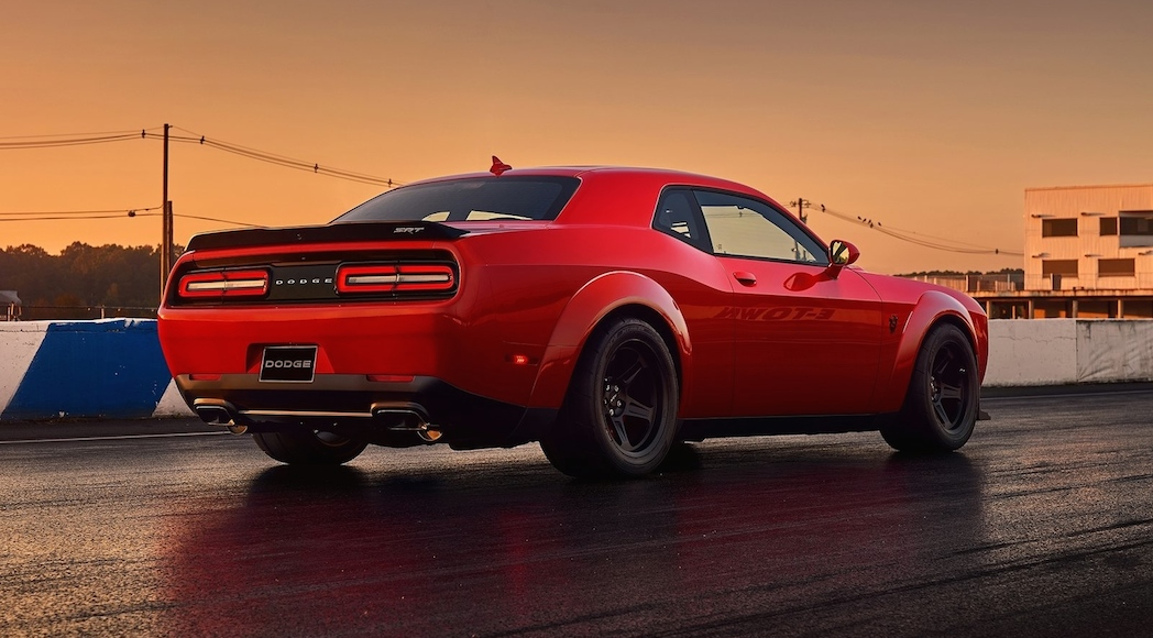 Dodge Challenger SRT Demon 2018-11