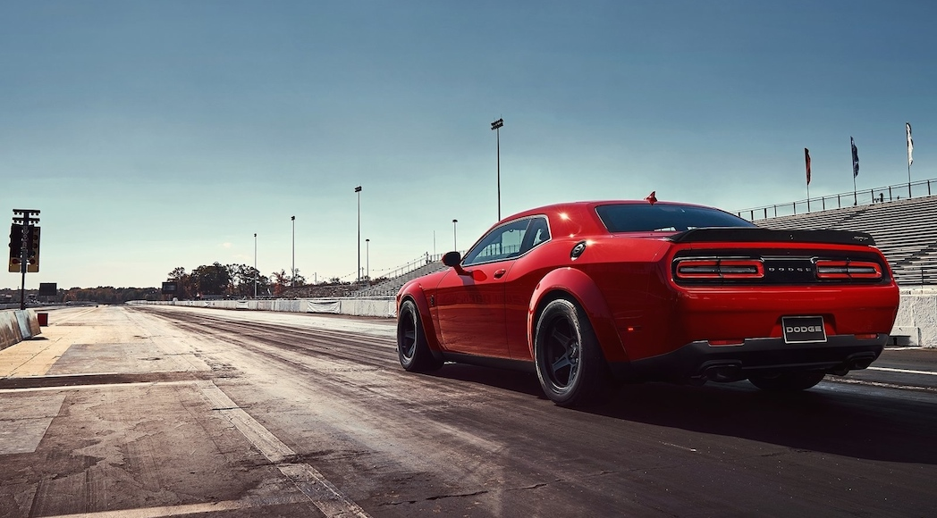 Dodge Challenger SRT Demon 2018-13