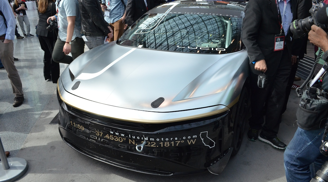 Lucid Motors Air Prototype 2017-2
