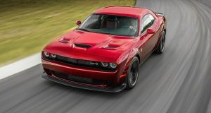 Dodge Challenger SRT Hellcat Widebody 2018 : une étape de plus