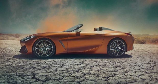 Le BMW Z4 Concept se pointe pour Pebble Beach