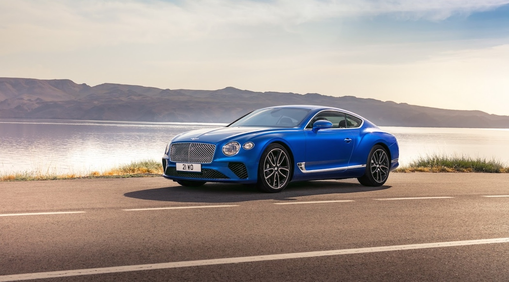 Bentley Continental GT 2018-1