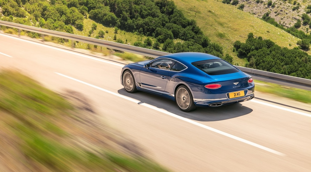 Bentley Continental GT 2018-11