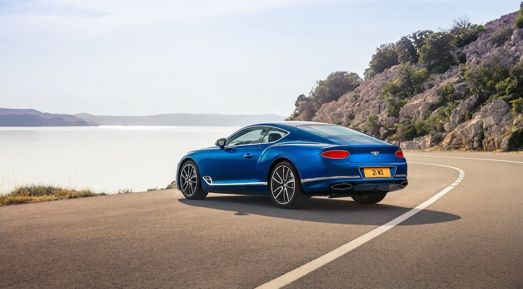 Bentley Continental GT 2018-13