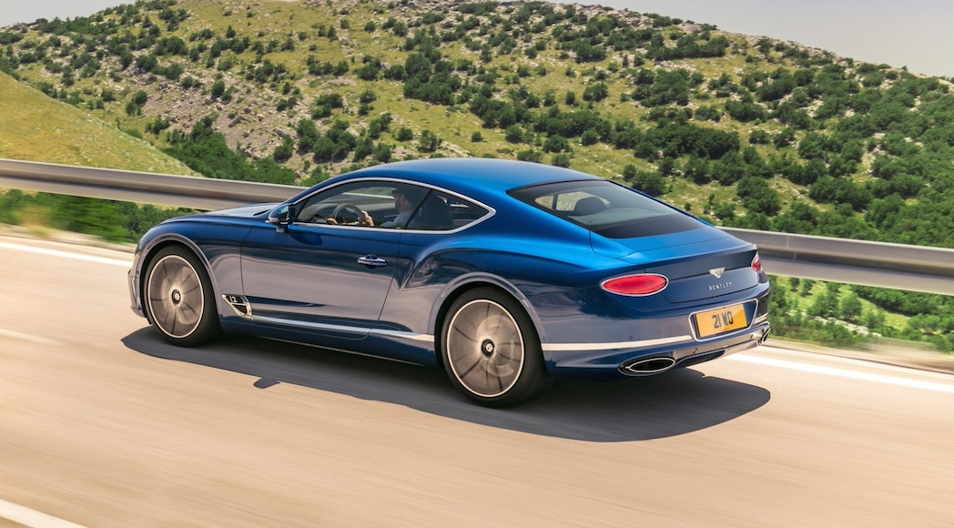 Bentley Continental GT 2018-15