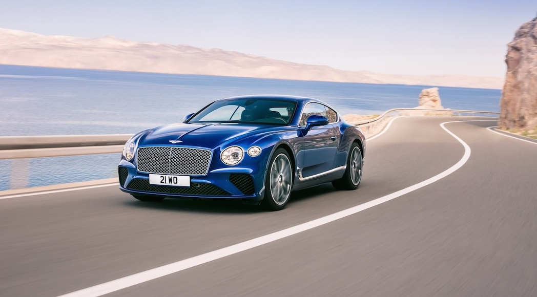 Bentley Continental GT 2018-3