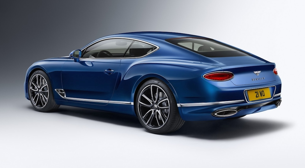 Bentley Continental GT 2018-34