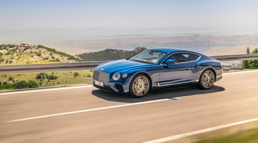 Bentley Continental GT 2018-4