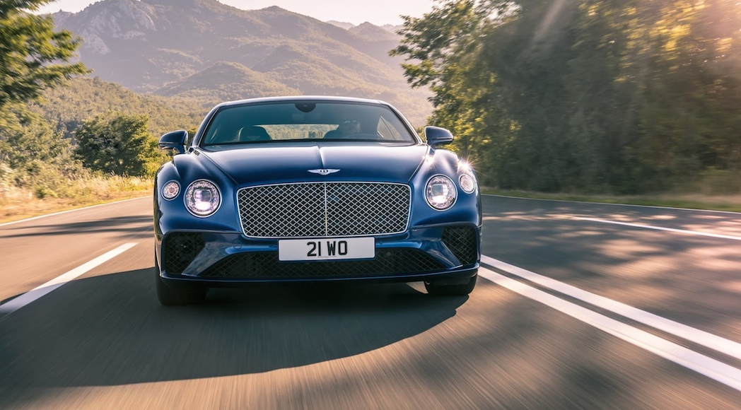 Bentley Continental GT 2018-5