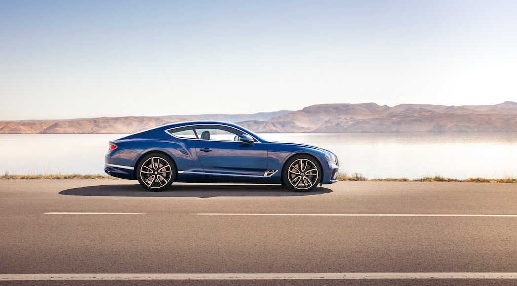 Bentley Continental GT 2018-9