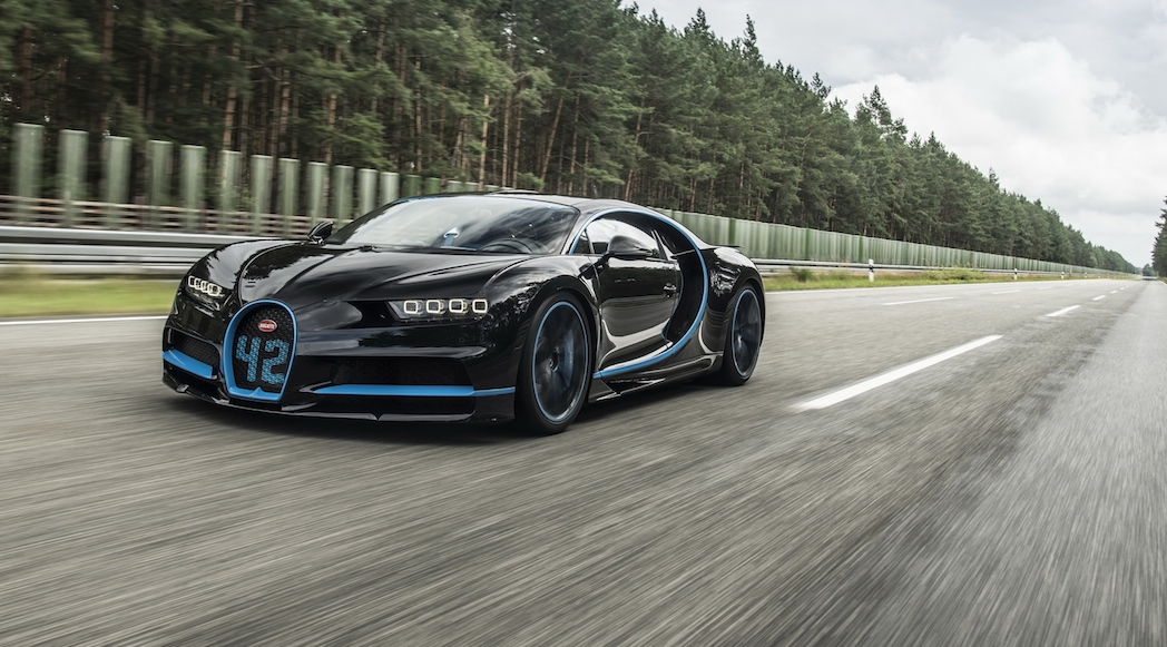 Bugatti Chiron 42 Seconds 2017-2