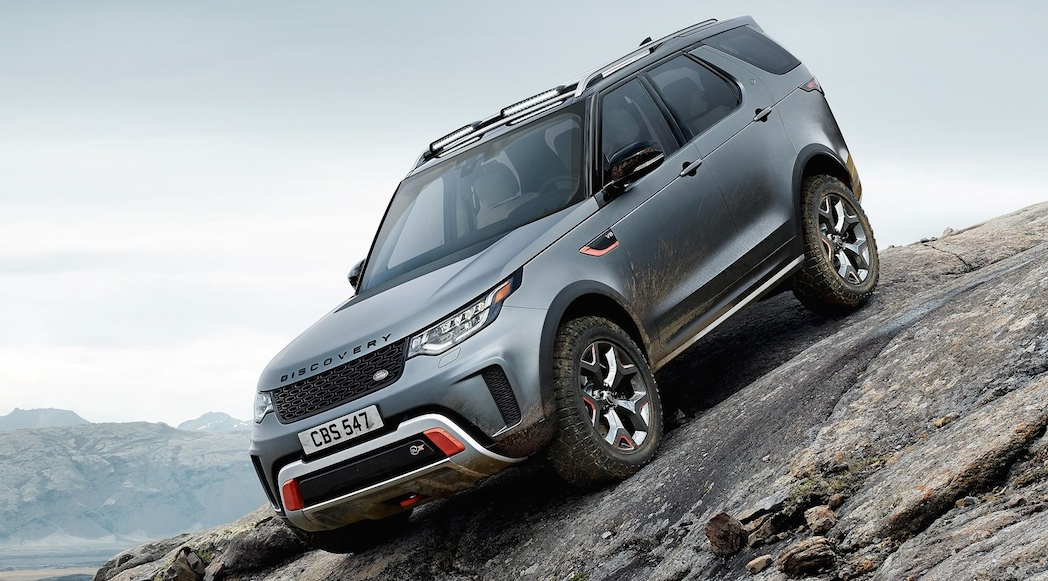 Land Rover Discovery SVX 2018-2