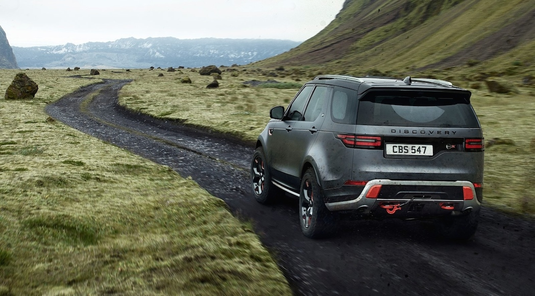Land Rover Discovery SVX 2018-9