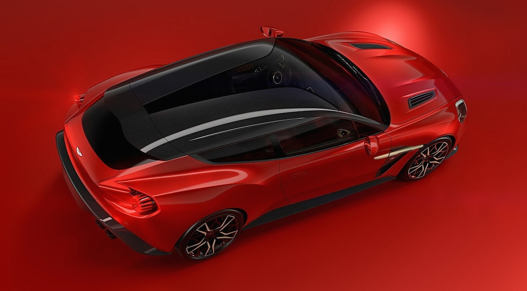 actualit auto aston martin vanquish zagato shooting brake et de 4 luxury car magazine. Black Bedroom Furniture Sets. Home Design Ideas