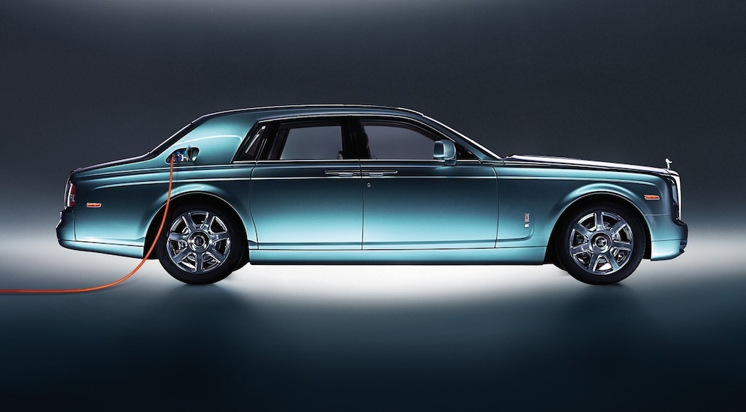 X-Rolls-Royce 102EX Electric Concept 2011-2