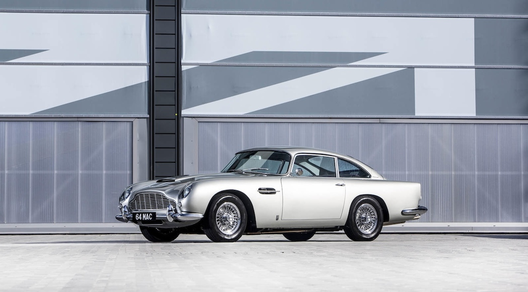 Paul McCartney Aston Martin DB5 1964-1