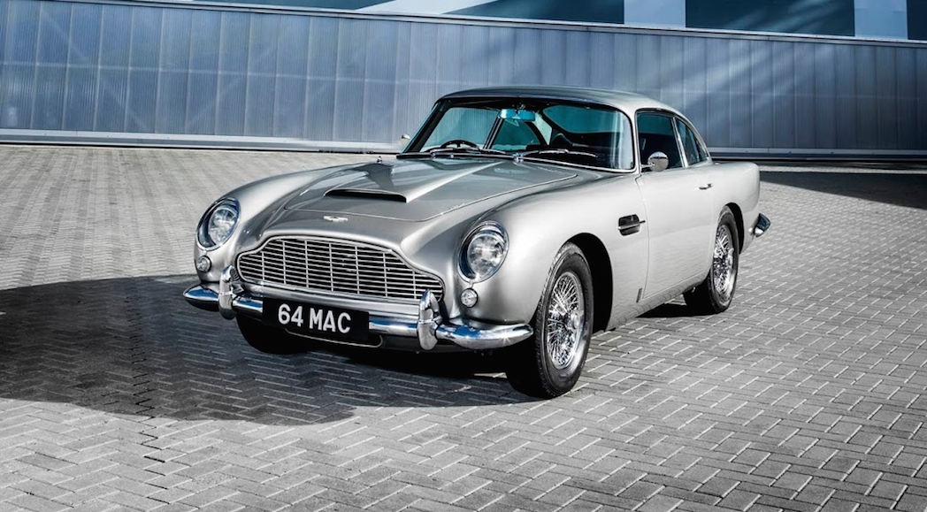 Paul McCartney Aston Martin DB5 1964-2