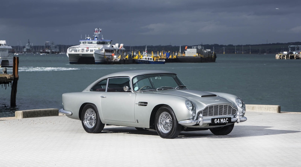 Paul McCartney Aston Martin DB5 1964-3