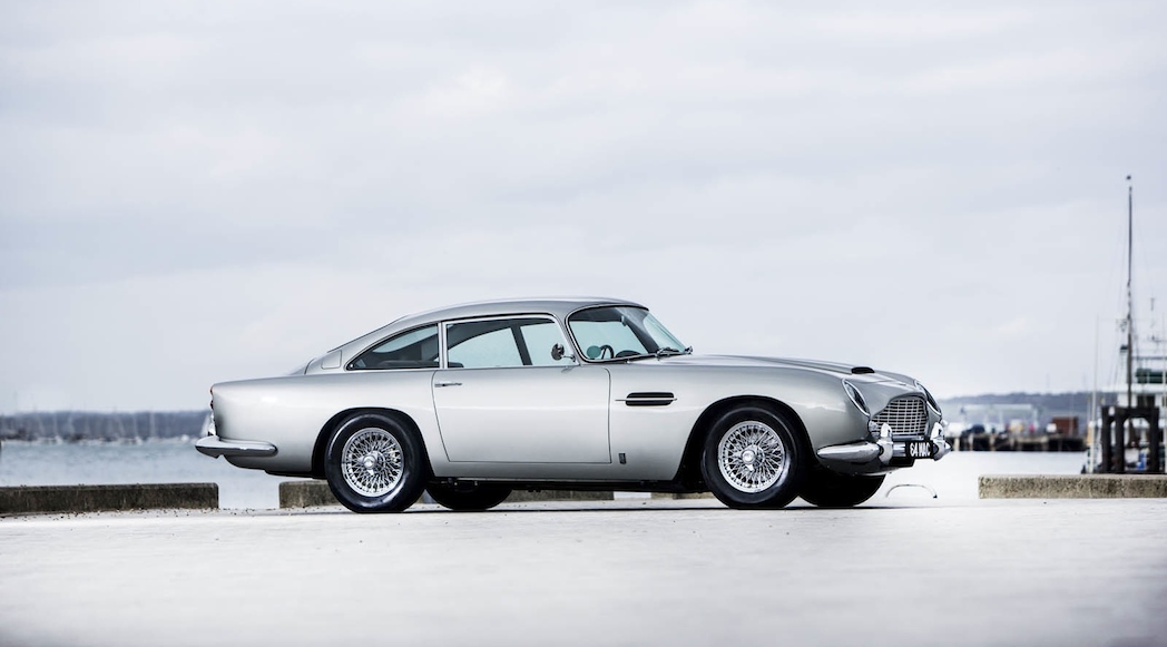 Paul McCartney Aston Martin DB5 1964-5