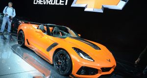 Salon de Los Angeles 2017 : Chevrolet enlève le toit de sa Corvette ZR1