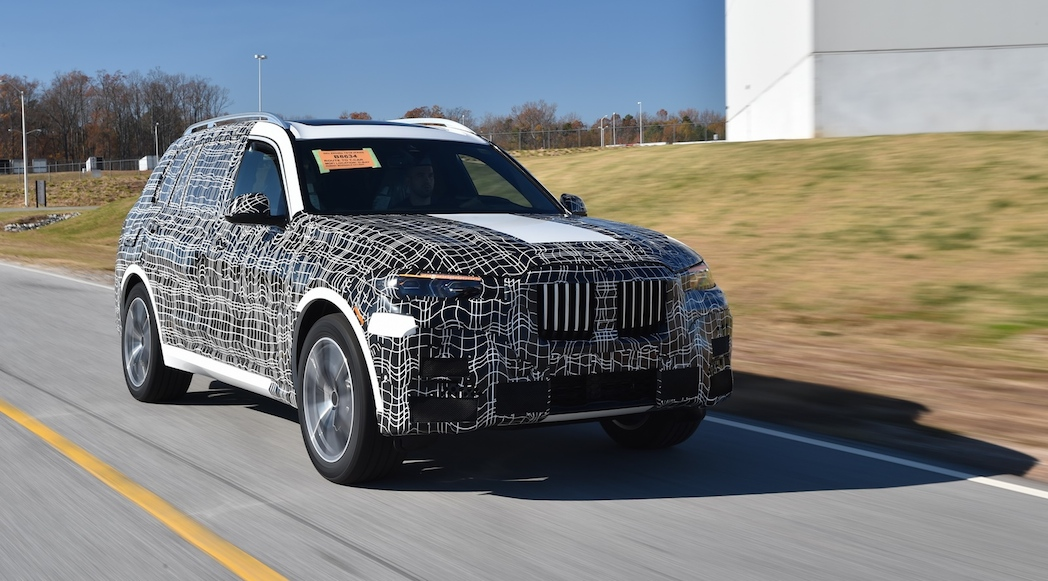 Prototype BMW X7 2018-23