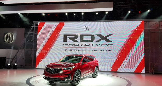 Le prototype Acura RDX 2019 dévoilé au Salon International de l'Auto de Détroit