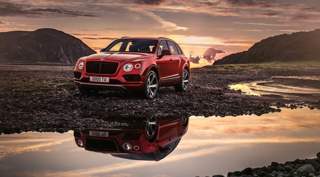Bentley Bentayga V8 2019-1