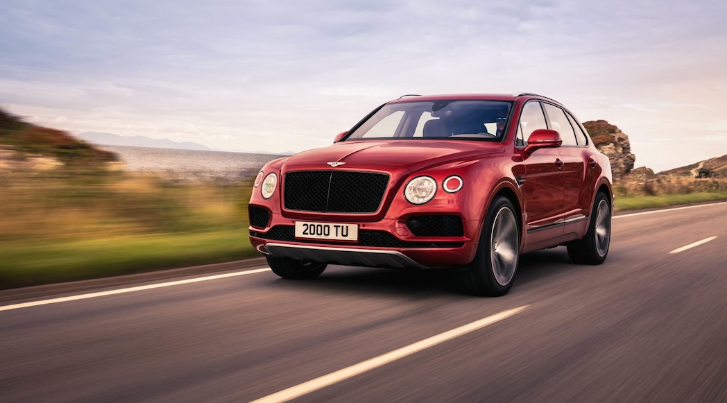 Bentley Bentayga V8 2019-2