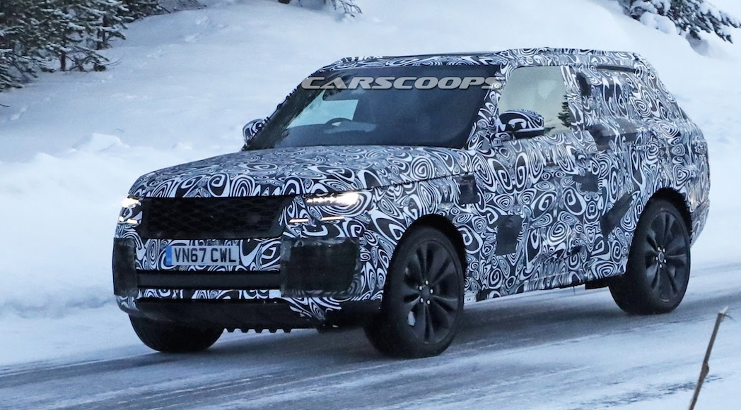 Land Rover Range Rover SV Coupe 2019 (Sources: CarScoop)