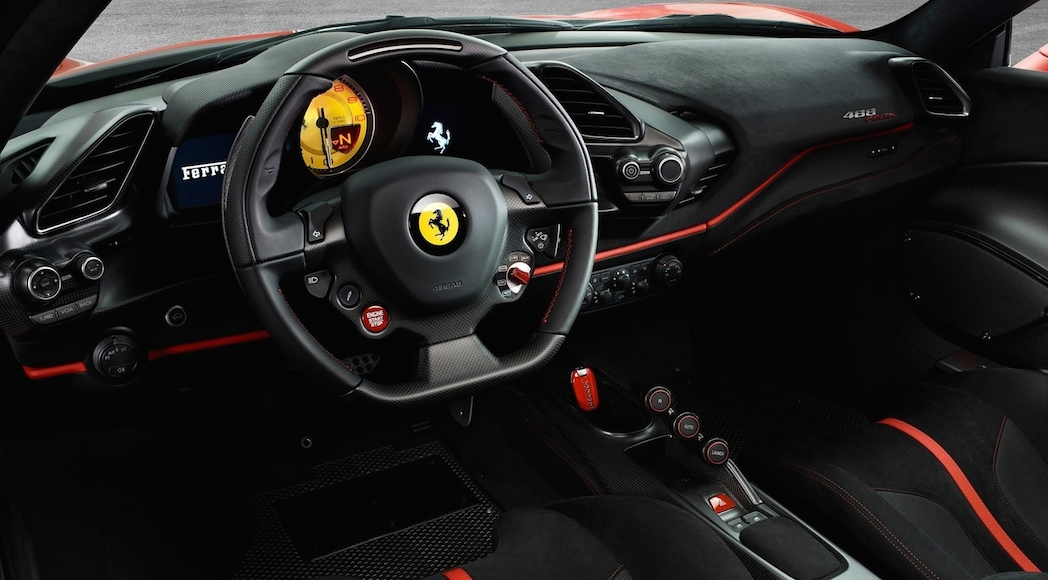 actualit auto ferrari 488 pista 2019 dernier tour de piste luxury car magazine. Black Bedroom Furniture Sets. Home Design Ideas
