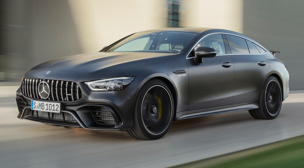 actualit auto mercedes amg gt 4 portes 2019 la plus puissante de l histoire luxury car. Black Bedroom Furniture Sets. Home Design Ideas