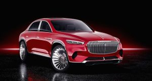 BEIJING : Mercedes-Maybach Ultimate Luxury Concept, l'attaque contre le Bentayga et le Cullinan