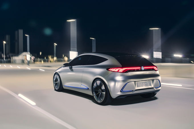 Mercedes-Benz-Concept-EQA-rear-three-quarter-in-motion