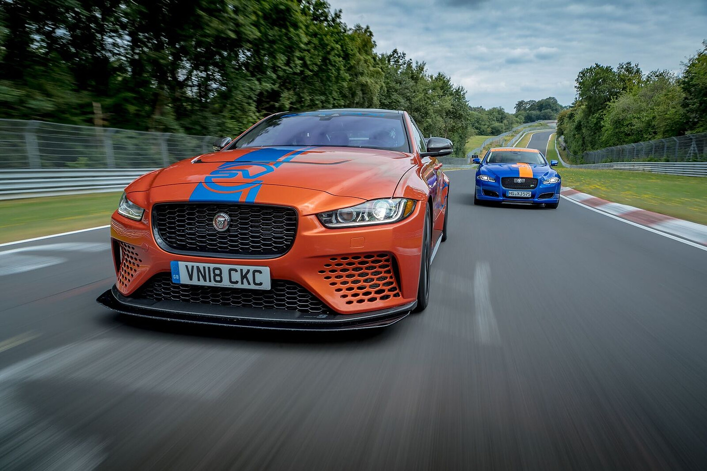 Jaguar XE SV Project 8 NŸrburgring Race Taxi
