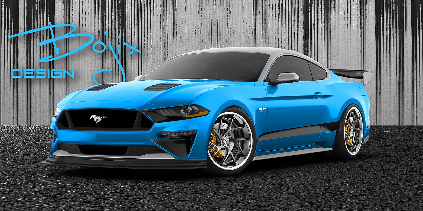 Bojix Design Mustang GT | Photo: Ford