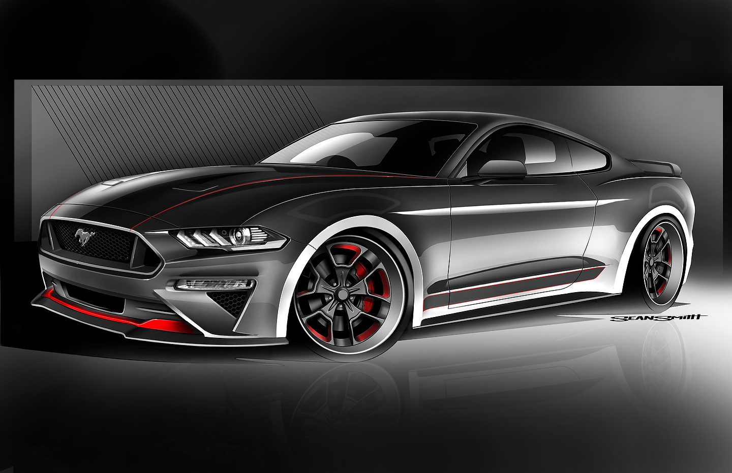 CGS Motorsports 5.0-liter supercharged Mustang GT | Photo: Ford