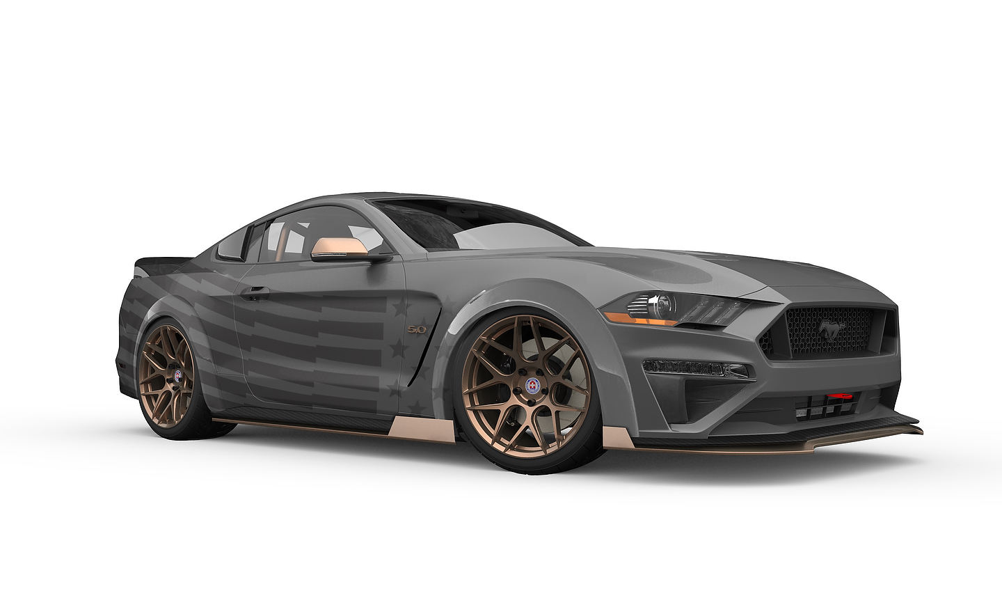 CJ Pony Parts Mustang GT Gets the Drift | Photo: Ford